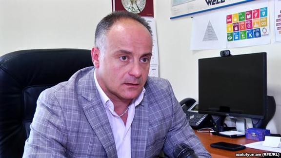 Garik Hayrapetian, UNFPA representative in Armenia (Photo: RFE/RL)
