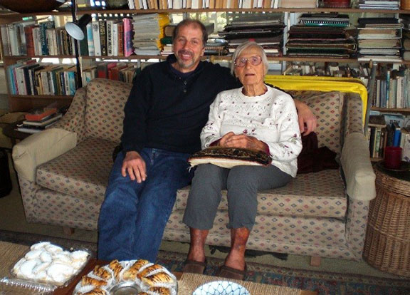 Harry Boghossian and Elibet Kuenzler Marshall in April 2010