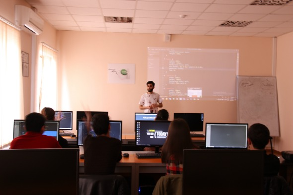 The company offers free training courses for specialists in the IT industry in Artsakh