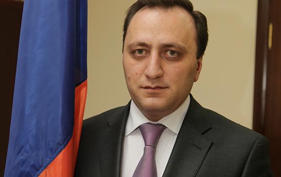 Armenia's Chief of Department of Defense Policy Levon Ayvazyan (Photo: Ministry of Defense of Armenia)