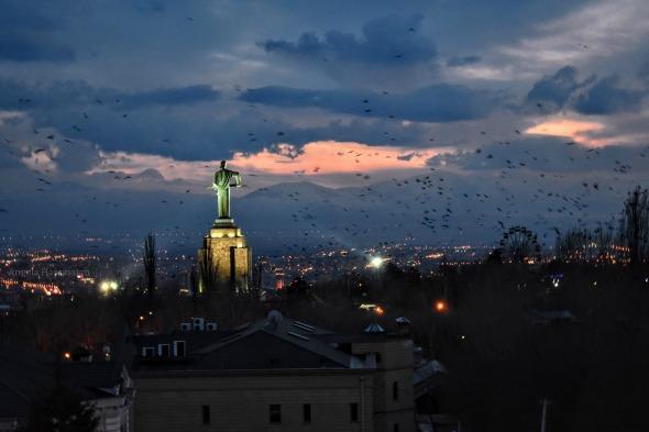 Mother Armenia in Yerevan (Photo: Angela Hassassian)