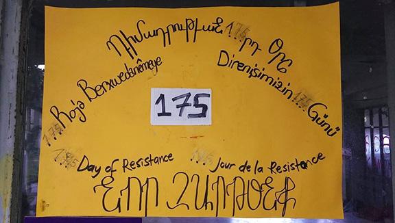 "On the 175th day of resistance, Camp Armen was returned to the Gedikpasha Armenian Protestant Church Foundation (Photo: ""Kamp Armen Ermeni Halkına İade Edilsin"" Facebook page)"
