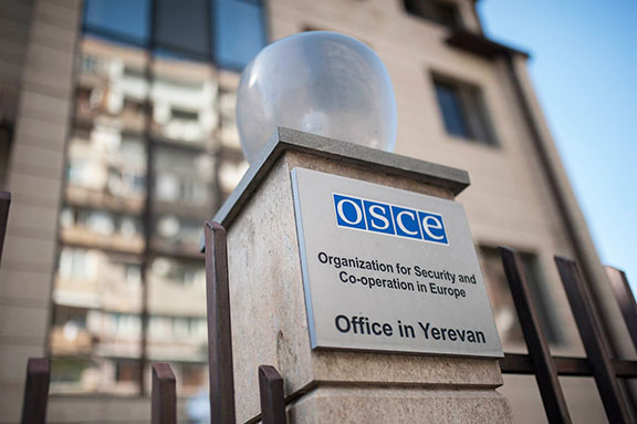 The Organization for Security and Co-operation in Europe (OSCE) Office in Yerevan (Photo: OSCE Office in Yerevan/Facebook)