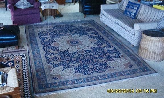 Replica of Marshall rug