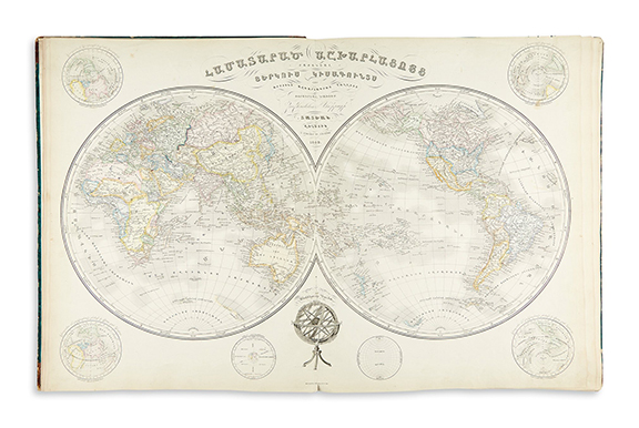 Hovhannes Amira Dadian atlas from 1849 was on auction in New York