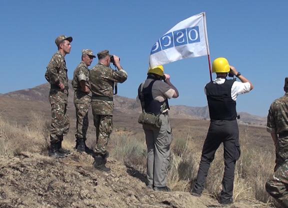 A recent OSCE monitoring mission at the Artsakh-Azerbaijan border
