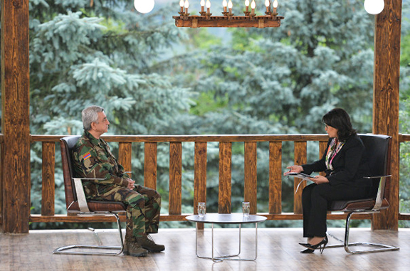 President Serzh Sarksiain in an interview with the R-Evolution program on Armenia TV