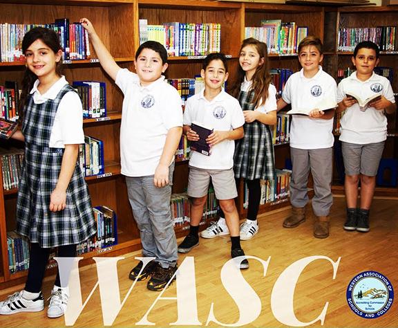 The Ari-Guragos Minassian School received a six-year accreditation from WASC