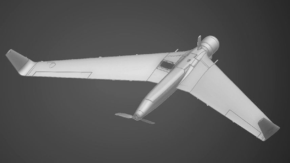 The Orbiter 1k drone is capable of carrying a special 2.2 to 4.4 pound special explosive payload.