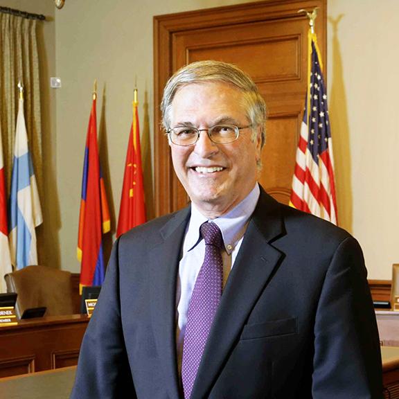 Pasadena Mayor Terry Tornek