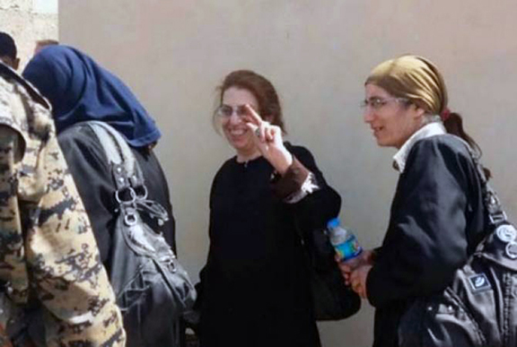 Rescued Christians in Raqqa province in Syria