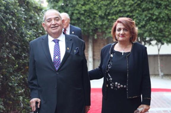 Hacop Baghdassarian and his wife, Hilda