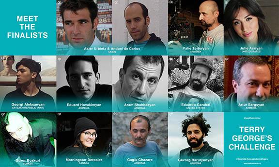 The twelve finalists