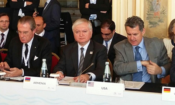 Foreign Minister Eduard Nalbandian during the 2017 OSCE 2017 OSCE Mediterranean Conference (Photo: Ministry of Foreign Affairs of the Republic of Armenia)