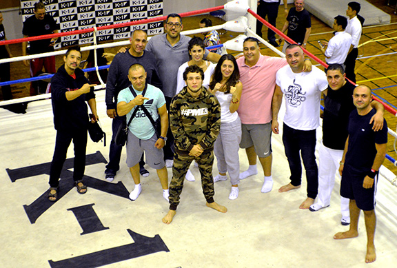 Armenian Bar's Circle of Support for Champion Melsik Baghdasaryan