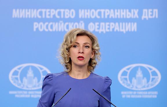 Russian Foreign Ministry Spokesperson Maria Zakharova (Photo: Valery Sharifulin/TASS)