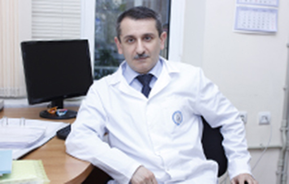 Head of the Institute of Children and Adolescent Health Sergey Sargsyan