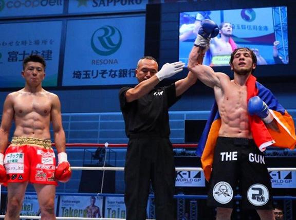 Champion Melsik Baghdasaryan Victorious In Tokyo