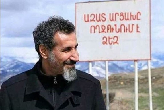 Serj Tankian in Artsakh