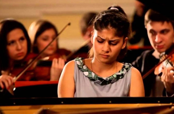 Anahit Aroushanyan at the Stars of Tenerife competition last month