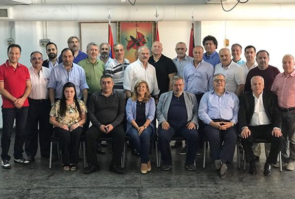 Participants of the ARF Regional Representatives meeting in Buenos Aires