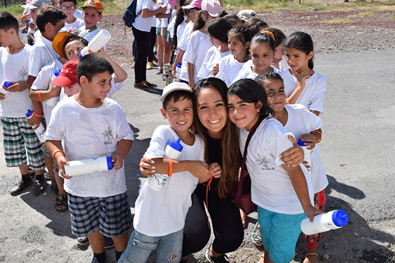 A scene from the AYF Youth Corps program