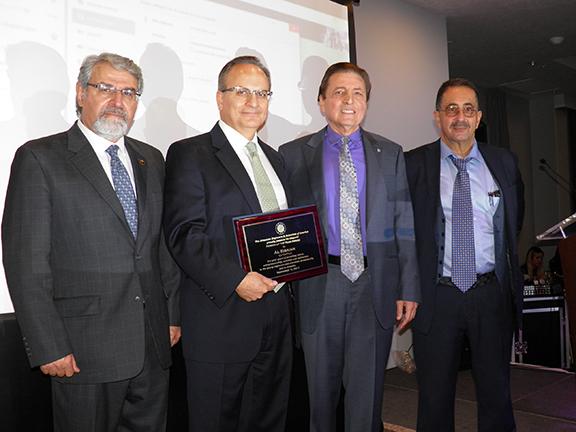 From Left: Razmik Gharakhanian, Albert Eisaian, Vrej Agajanian, John Shirajian