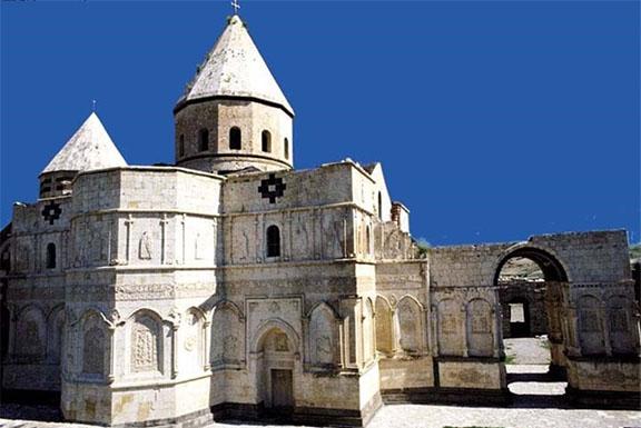 The St. Thaddeus Monastery in Iran