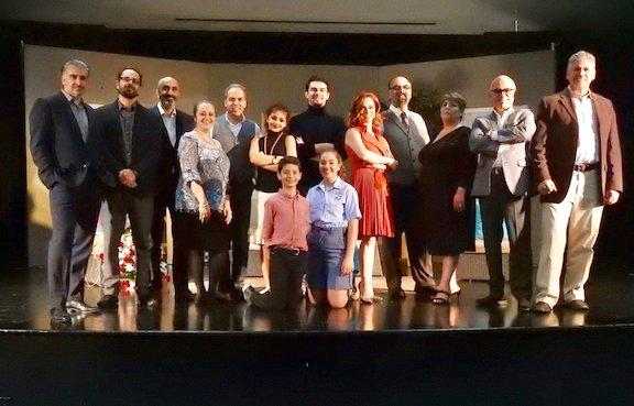 "Cast of ""Groonguh Ge Ganche"" revival"