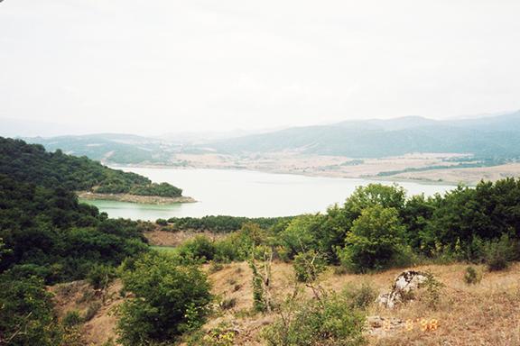 Sarsang reservoir, Artsakh