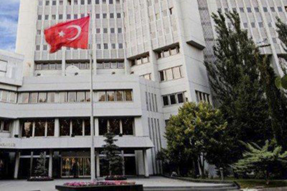 Turkey's Foreign Ministry building