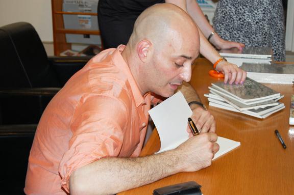 Author Christopher Atamian