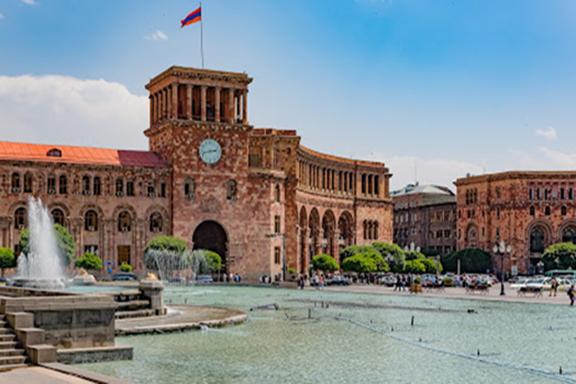 Yerevan's Republic Square is a major tourist attraction
