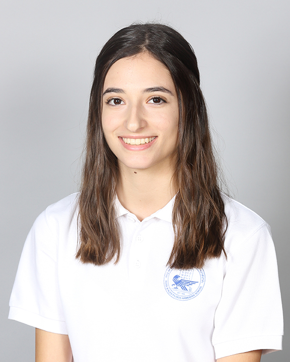 Pilibos 11th grade student Ani Ghazarian