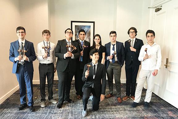 Alex Pilibos students at JSA