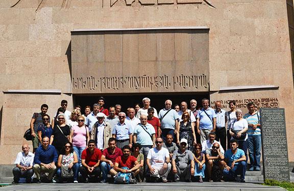 Hidden Armenians at Yerevan Museum in Armenia 2014, Project Rebirth