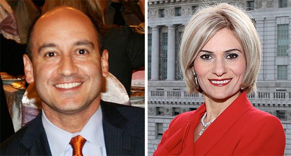 Michael Amerian and Amy Ashvanian