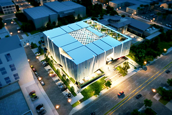 An architect's rendering of the future Armenian American Museum