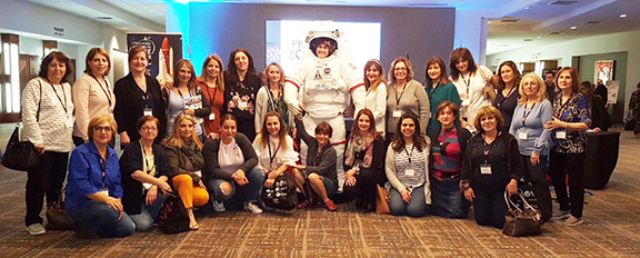 Tufenkian Pre-School and Kindergarten staff and faculty at the Early Childhood STEM conference in Anaheim