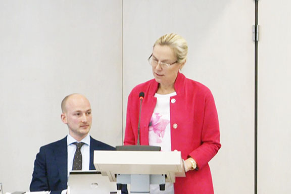 Dutch Foreign Minister Sigrid Kaag told parliament on Thursday that her cabinet will send a member to Armenia in April to commemorate the Genocide