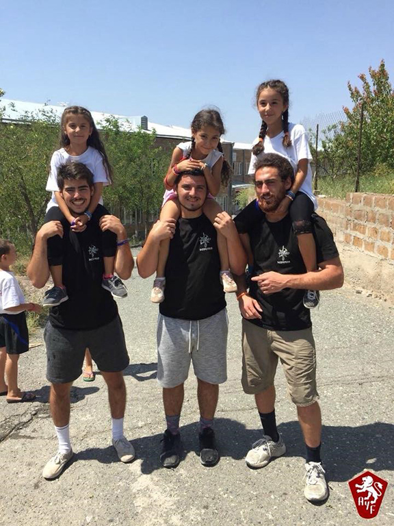 AYF Youth Corps volunteers form lasting bonds with local children in Armenia and Artsakh