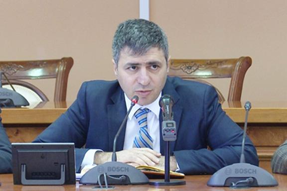 Armenia's Deputy Defense Minister David Pakhchanyan