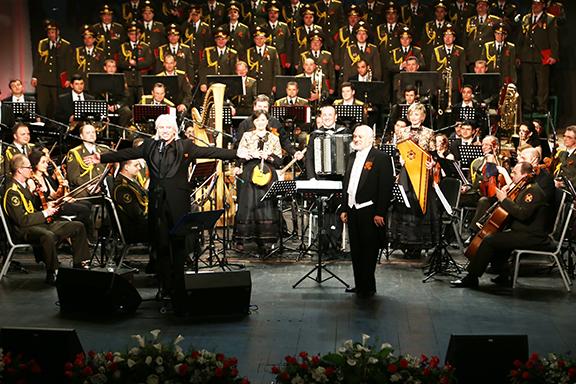Dmitri Hvorostovsky and Constantine Orbelian at the Yerevan Opera House, May 12, 2015