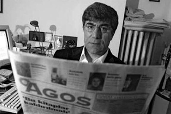 The slain Agos editor, Hrant Dink