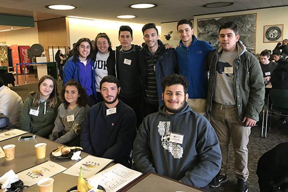 Ferrahian students at the LADWP Science Fair