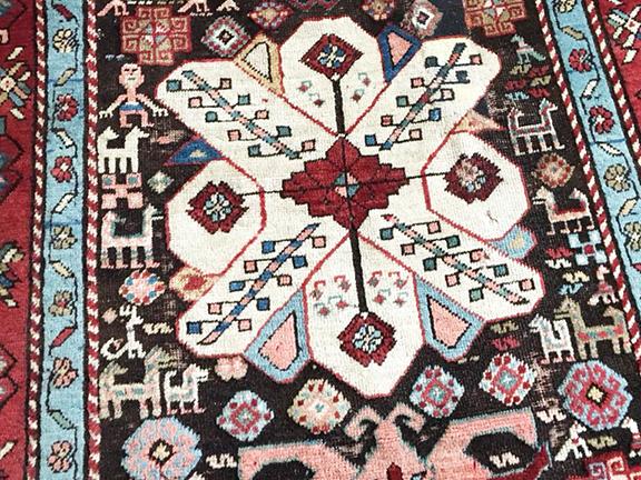 An Armenian carpet dating back to 1893 was made in Shushi, Artsakh