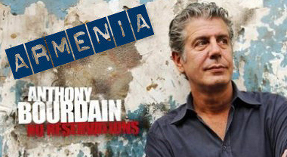 """""""Anthony Bourdain's Parts Unknown"""" episode shot in Armenia to air on CNN on May 20"""