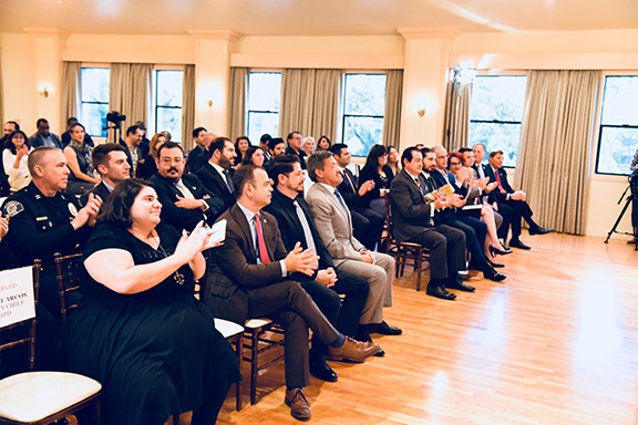 Community members turned out for Equality Armenia's Leadership Forum