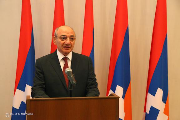Artsakh President Bako Sahakian