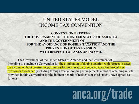 Model Tax Treaty